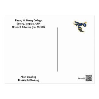 大学フットボール! ポストカード