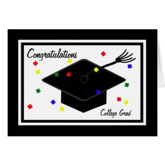 大学卒業カード カード