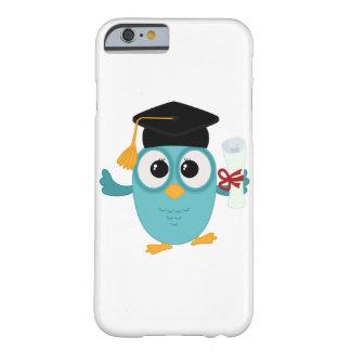 大学院のフクロウのかわいいiphoneのケース barely there iPhone 6 ケース