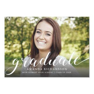 大学院の原稿、卒業の発表 カード