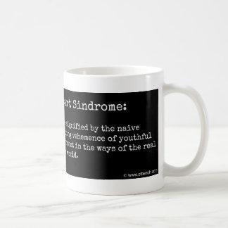 大学院の成り上がりのSindromeのコーヒー・マグ コーヒーマグカップ