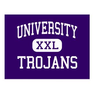大学-トロイ人-高等学校- Wacoテキサス州 ポストカード