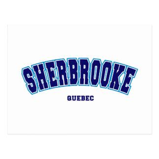 大学Sherbrooke ポストカード