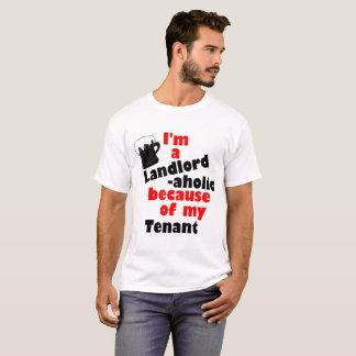 大家-ストレスがたまった大家のためのaholicワイシャツ tシャツ