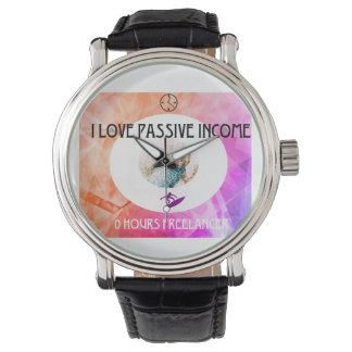 大富豪は受動収入と見ます! 腕時計