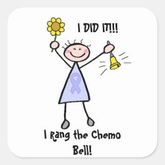 大将Chemo鐘- Cancer女性 スクエアシール