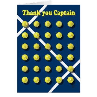 大尉ありがとう カード