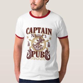 大尉のアイディアを個人化して下さいName's Pub Great Giftの! Tシャツ