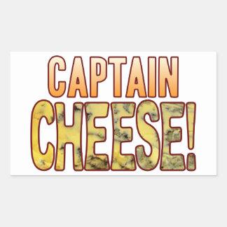 大尉ブルーチーズ 長方形シール
