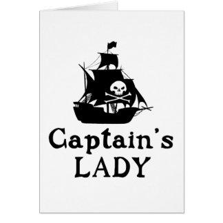 大尉女性の カード