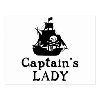 大尉女性の ポストカード