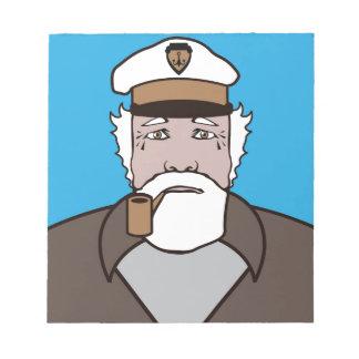 大尉色のベクトル ノートパッド