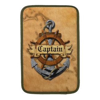 大尉Anchorおよび車輪 MacBook スリーブ