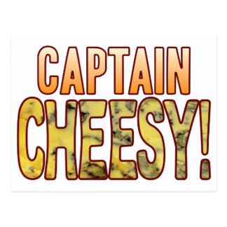 大尉Blue Cheesy ポストカード