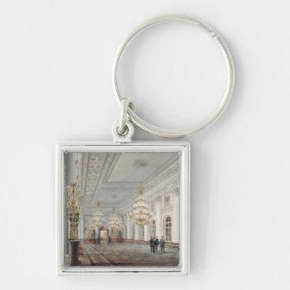 大広間の冬宮殿、セント・ピーターズバーグ キーホルダー