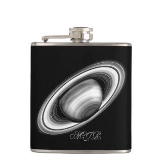 大手ガス会社土星-太陽系のイメージのリング フラスク