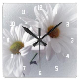 大抵白い スクエア壁時計