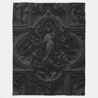大教会堂のミラノのカテドラルメリー フリースブランケット