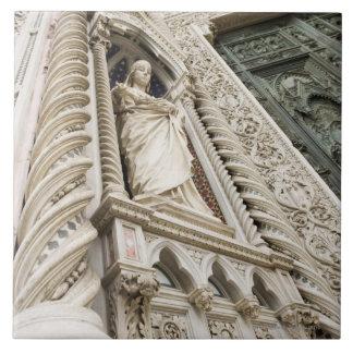 大教会堂サンタマリアDel Fioreフィレンツェイタリア2 タイル