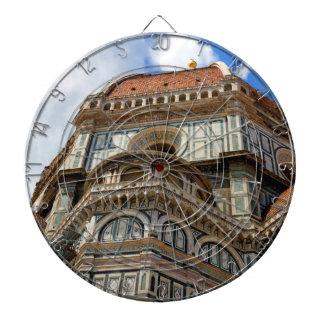 大教会堂、フィレンツェで、タスカニー、イタリア ダーツボード