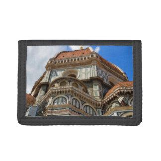 大教会堂、フィレンツェで、タスカニー、イタリア ナイロン三つ折りウォレット
