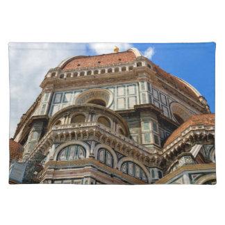 大教会堂、フィレンツェで、タスカニー、イタリア ランチョンマット