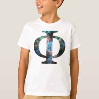 大文字ファイ[タランチュラ] [WhtOL] .png Tシャツ