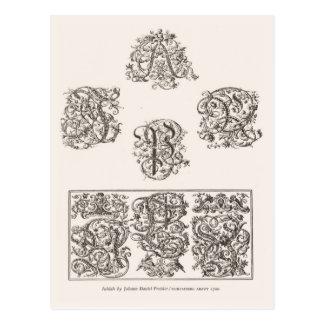 大文字1700年 ポストカード