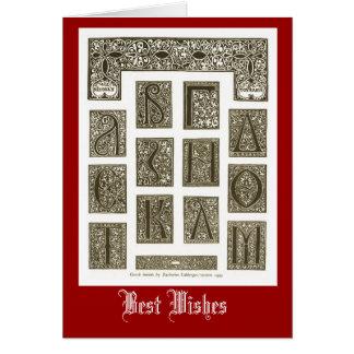 大文字、ベニス1629年 カード