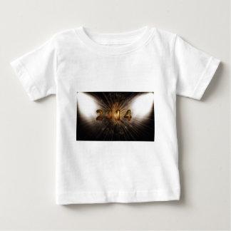 大晦日年の花火2014年 ベビーTシャツ