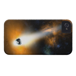 大気を通って降りる彗星 iPhone 4 カバー