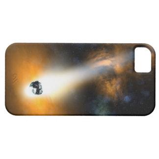 大気を通って降りる彗星 iPhone 5 カバー
