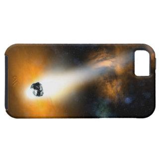 大気を通って降りる彗星 iPhone 5 COVER