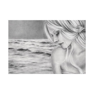 大洋性の夢みる人のキャンバスのプリント キャンバスプリント