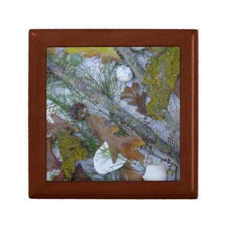 大理石およびカシの葉箱 ギフトボックス