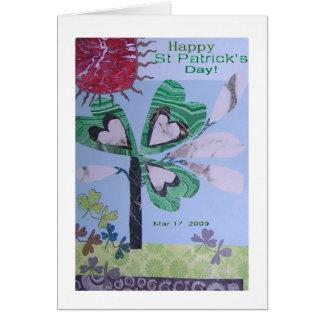 大理石およびMalichiteセントパトリック日 カード