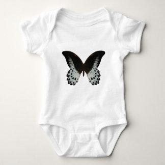 大理石のアゲハチョウの蝶 ベビーボディスーツ