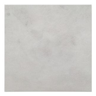 大理石のクリーム色の背景灰色プラスター質 ポスター