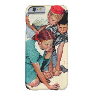 大理石のチャンピオン BARELY THERE iPhone 6 ケース