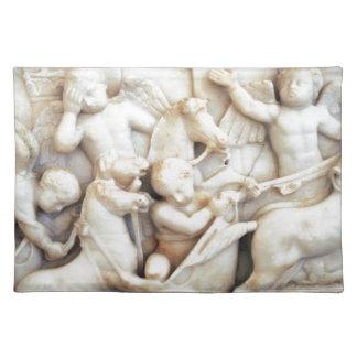 大理石のローマの天使 ランチョンマット