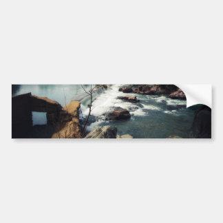 大理石の入り江 バンパーステッカー
