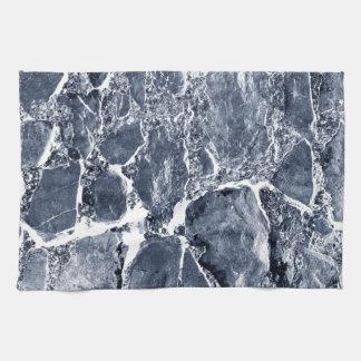 大理石の効果 キッチンタオル