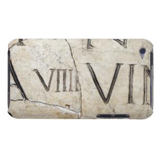 大理石の古代ローマ手紙のクローズアップ Case-Mate iPod TOUCH ケース