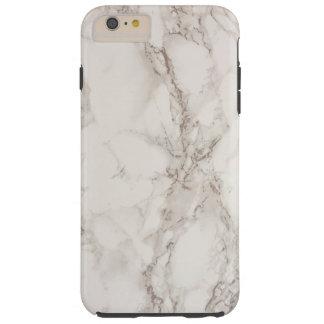 大理石の石造りの堅いiPhone 6のプラスの場合 Tough iPhone 6 Plus ケース