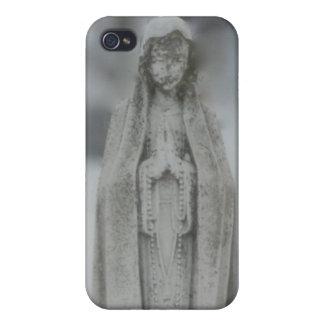 大理石の聖母マリアの彫像 iPhone 4/4S CASE