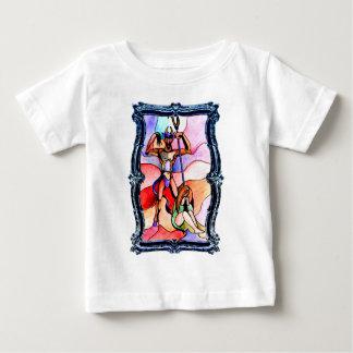大理石のDiablo ベビーTシャツ