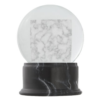 大理石パターン灰色白の大理石模様をつけられた石造りの背景 スノーグローブ