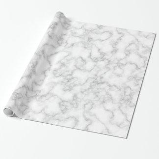 大理石パターン灰色白の大理石模様をつけられた石造りの背景 ラッピングペーパー