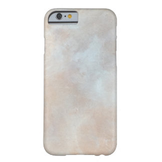 大理石模様をつけられたクリーム色の背景プラスター質の大理石 iPhone 6 ベアリーゼアケース