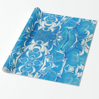 大理石模様をつけられた包装紙 ラッピングペーパー